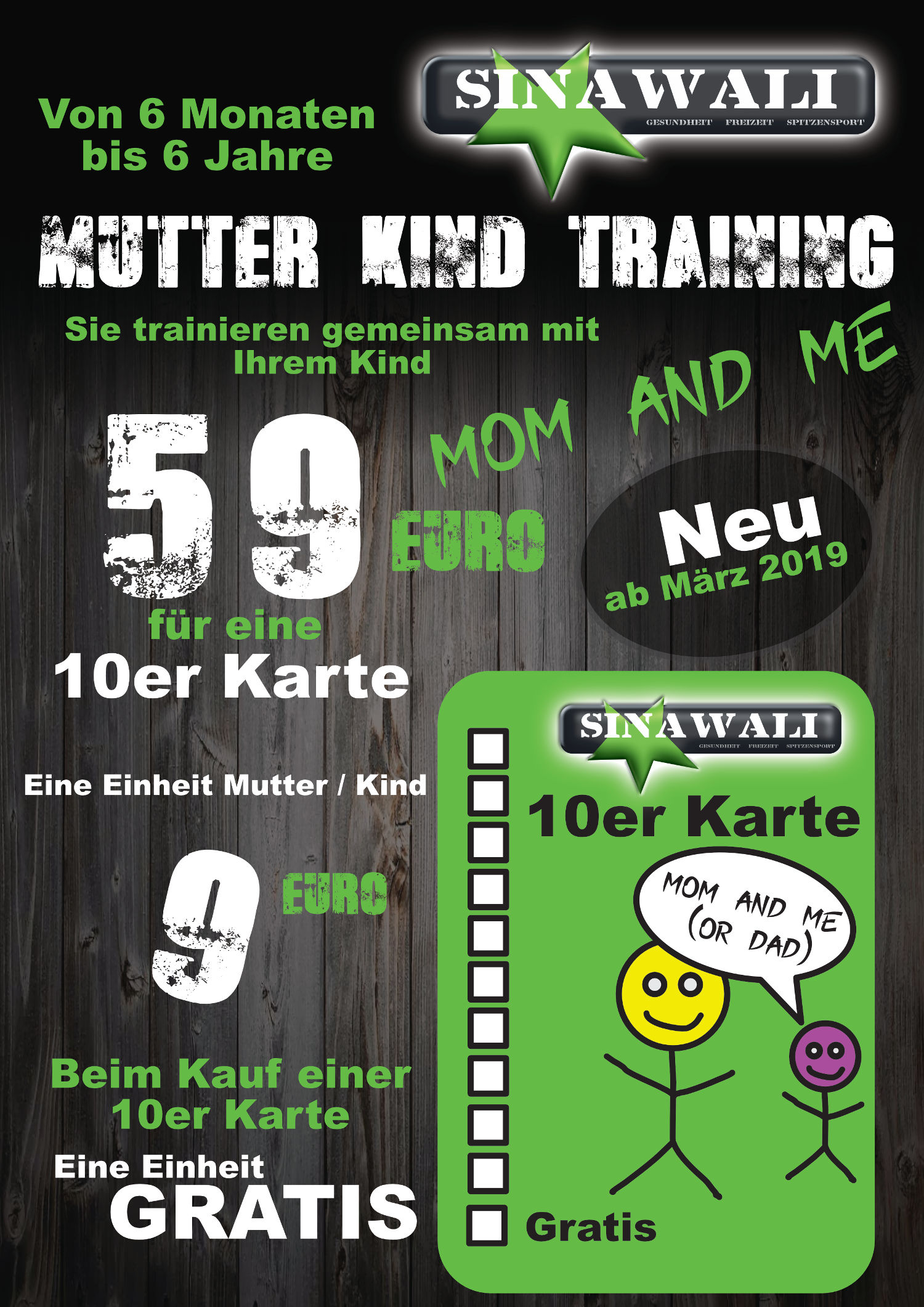 "Mutter-Kind-Training ""Mom & Me"""