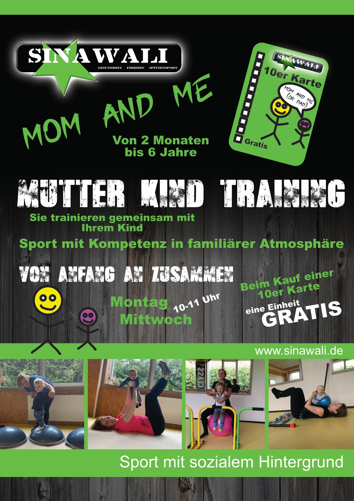 "Mutter-Kind-Training ""Mom & Me"" again"