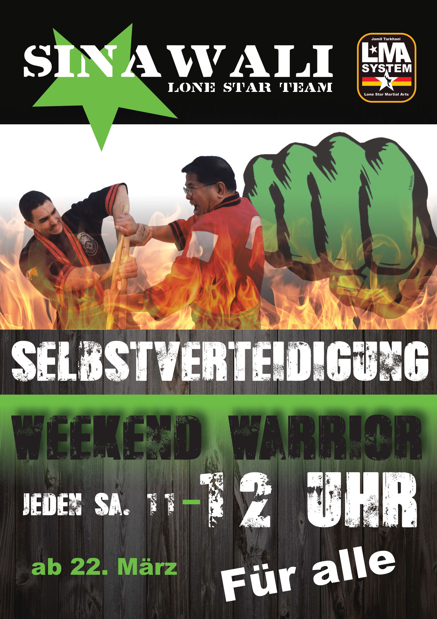 Ankündigung Weekend Warrior X4